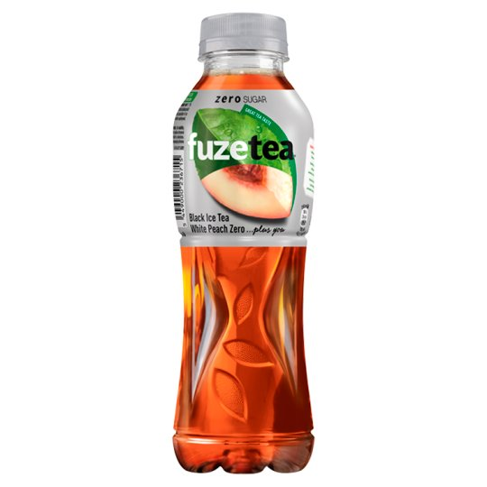 FuzeTea White Peach Zero Black Ice Tea 500ml