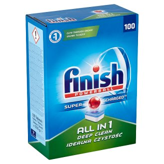 Finish Powerball All in 1 Dishwasher Tablets 100 pcs 1810g