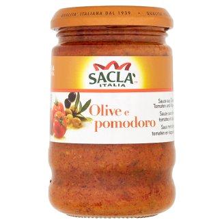Saclà Italia Olivová omáčka s rajčaty a kapary 190g