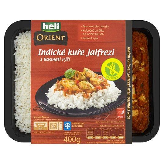 Heli Orient Indické kuře Jalfrezi s Basmati rýží 400g