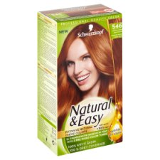 b45c1dc2cfde Natural   Easy Hair Colour Medium Copper Fawn Terracotta 546 - Tesco ...