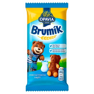 Opavia Brumík Fancy Cake with Milk Filling 30g