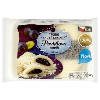 Tesco Yeast Dumplings with Plum Jam 4 pcs 200g