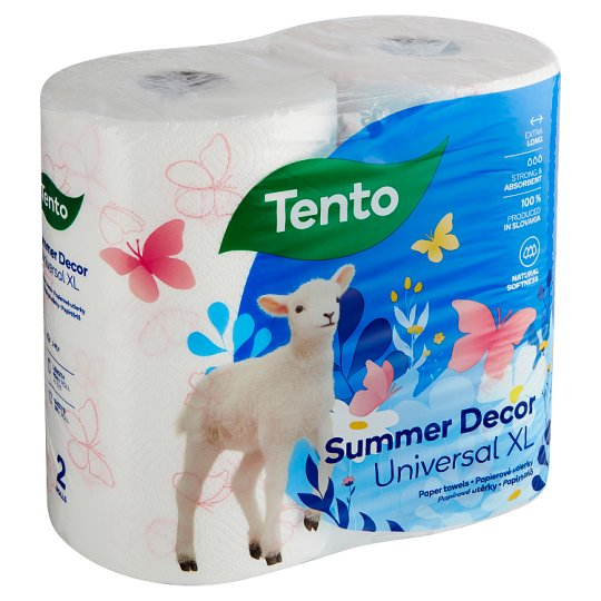 Tento Giant XL Paper Towels 2 Rolls