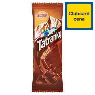 Sedita Tatranky Biscuits with Chocolate and Cocoa Filling 30g