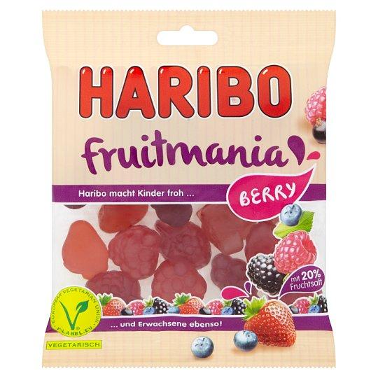 Haribo Fruitmania Berry ovocné želé 85g