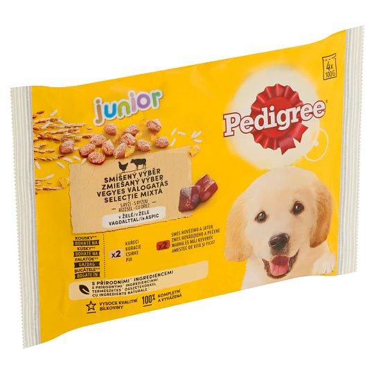 Pedigree Vital Protection Junior 100% kompletní výživa v želé 4 x 100g