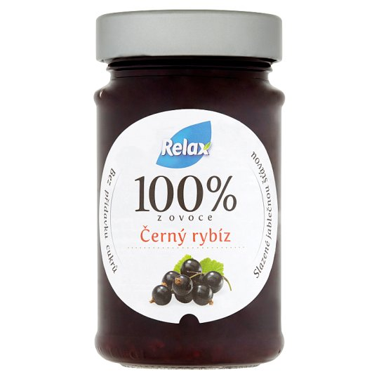 Relax 100% of Fruit Black Currant 220g