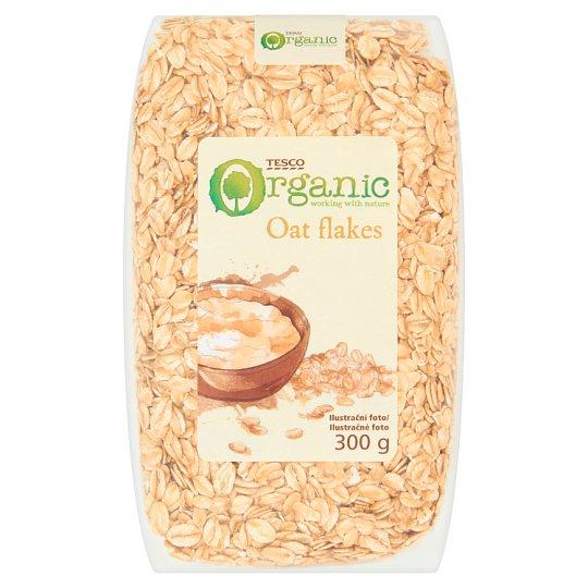 Tesco Organic Oat Flakes 300g
