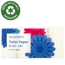 Springforce Toilet Paper 2ply 8 rolls