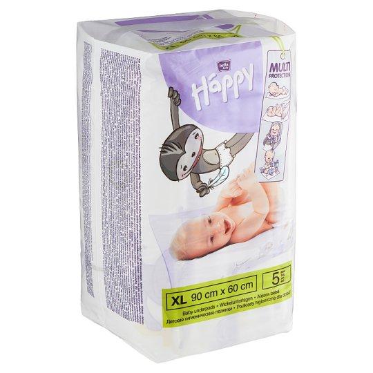 Happy Baby Underpads 90 x 60 cm 5 pcs