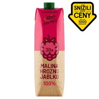 RIO FRESH 100% ovocný mix s malinami 1l