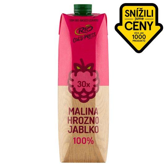 RIO FRESH 100% šťáva ovocný mix s malinami 1l