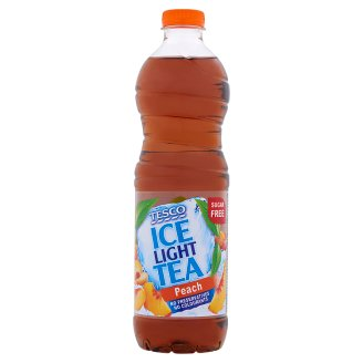 Tesco Ice Tea Light Peach 1,5l