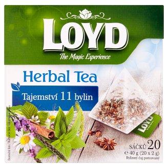 Loyd Herbal Tea Tajemství 11 bylin 20 x 2g
