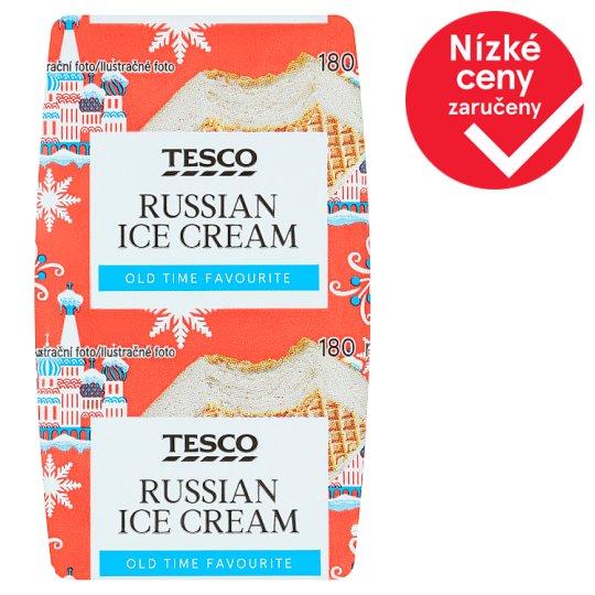 Tesco Russian Ice Cream 180ml