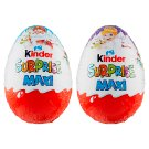 Kinder Surprise Maxi Sweet Egg with Milk Chocolate - with Surprise 100g