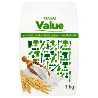 Tesco Value Flour 1kg