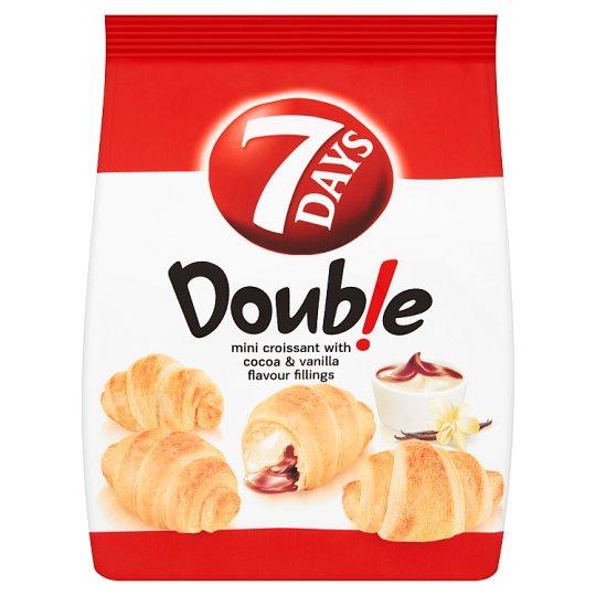7 Days Doub!e Mini Croissant Cocoa-Vanilla 60g