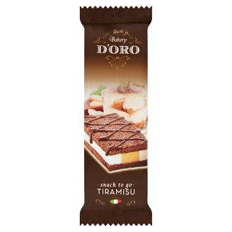 Bakery D'Oro Sponge Bar with a Milky Tiramisu Crème Filling 30g