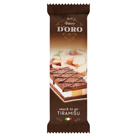 Bakery D'Oro Tiramisu Snack 30g