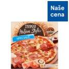 Tesco Pizza s rajčatovou omáčkou sýrem mozzarella salámem šunkou a žampiony 320g
