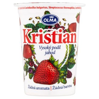 Olma Kristian Jogurt s 5 živými kulturami jahoda 150g