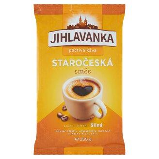 Jihlavanka Staročeská směs pražená mletá káva 250g