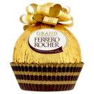 Ferrero Rocher Dutá figurka z mléčné čokolády s drcenými lískovými oříšky 125g
