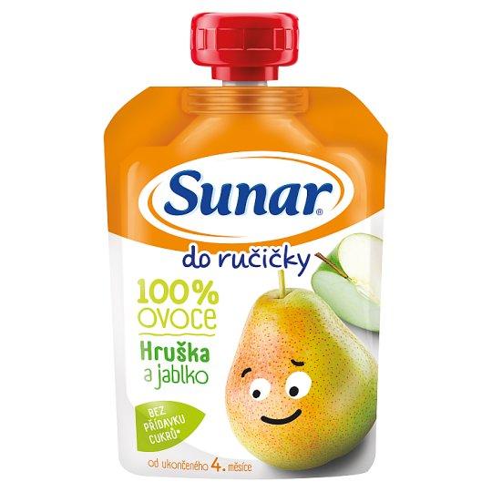 Sunárek Do Ručičky Jablko Hruška 100% ovoce 100g