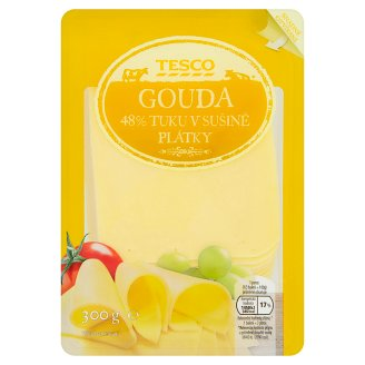 Tesco Gouda 48 % Cheese Sliced 300g