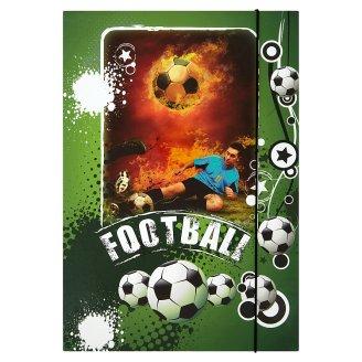 Linarts Box na sešity s gumou A4 - Football