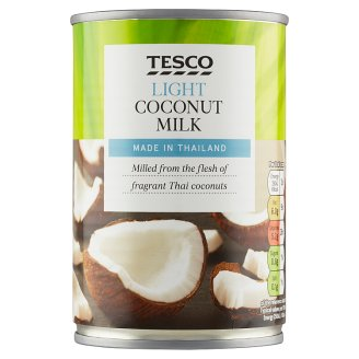 Tesco Kokosové mléko se sníženým obsahem tuku 400ml