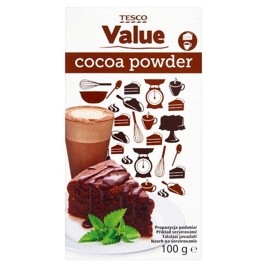 Tesco Value Cocoa Powder 100g