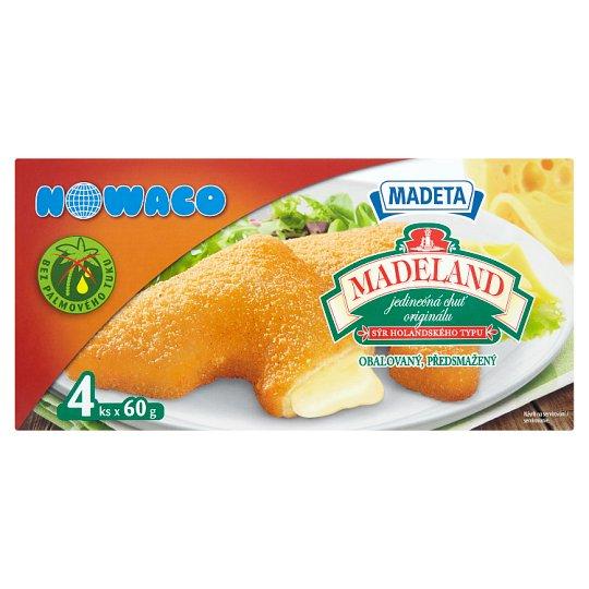 Nowaco Madeta Madeland Breaded, Pre-Fried 4 x 60g