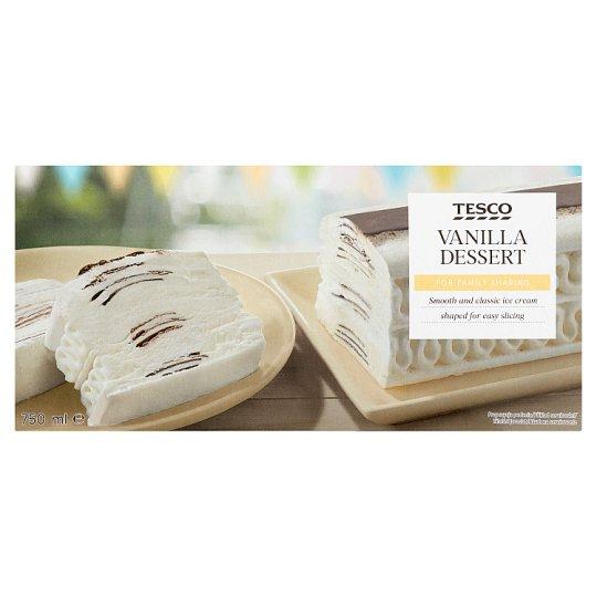 Tesco Vanilla Dessert 750ml