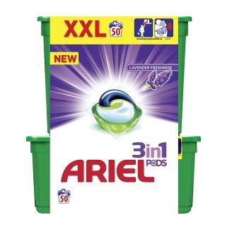 Ariel Lavender Freshness Kapsle Na Praní Prádla 3v1 50Praní