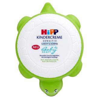 HiPP Babysanft Sensitiv dětský krém obličej & tělo 100ml