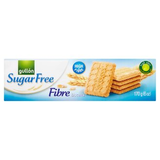 Gullón Fibre sušenky s vlákninou bez cukru 170g