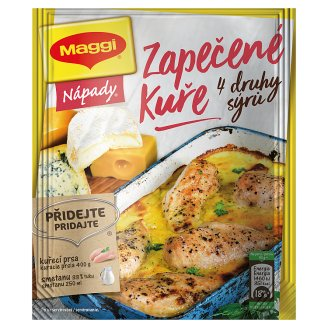 MAGGI Nápady Baked Chicken with Four Kinds of Cheese Bag 32g