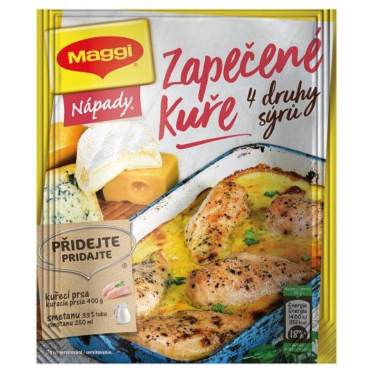 MAGGI Nápady Zapečené kuře se čtyřmi druhy sýrů sáček 32g
