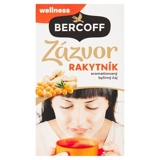 Bercoff Klember Wellness Zázvor & Rakytník aromatizovaný bylinný čaj 20 x 2,0g