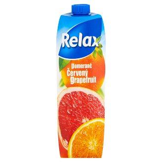 Relax Pomeranč červený grapefruit 1l