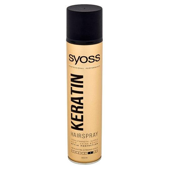 Syoss Keratin Style Perfection lak na vlasy pro neviditelnou extra silnou fixaci 4 300ml