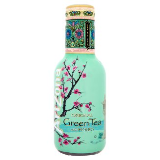 AriZona Green Tea Honey Zelený čaj s medem 0,5l PET