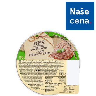 Tesco Pate with Goose Kidneys 100g