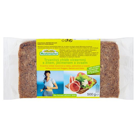 Mestemacher Durable Multigrain Bread 500g