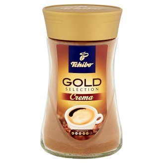 Tchibo Gold Selection Crema Instant Coffee 180g