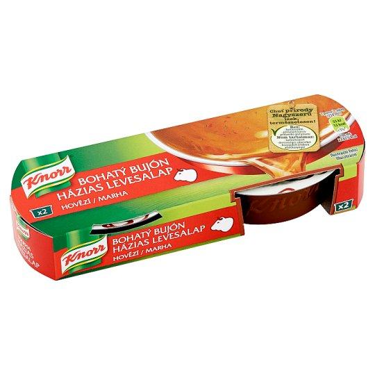 Knorr Bohatý Bujón Beef 2 x 28g