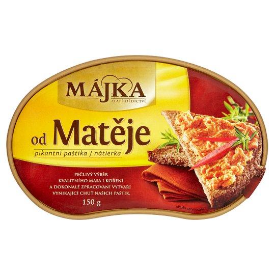 Májka od Matěje pikantní paštika 150g